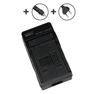 Panasonic Lumix DMC-FX12EB-K 2.52W batterilader (4.2V, 0.6A)