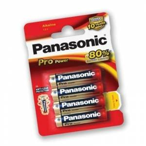 Panasonic Alkaline Battery AAA Pro Power