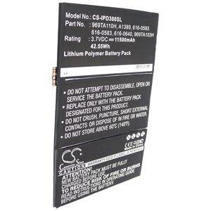 Apple Batteri (11500 mAh) passende for Apple iPad 4 (64GB) Wi-Fi