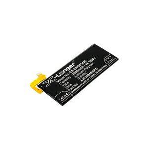 Sony Xperia XZ Premium batteri (3200 mAh, Sort)