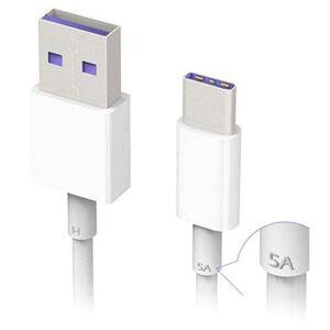 Huawei HL1289 SuperCharge USB Type-C Kabel - 1m - Hvit