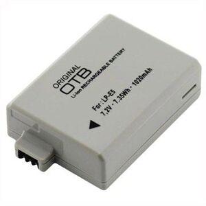 OTB Canon LP-E5 Batteri - EOS 1000D, EOS 500D, EOS 450D - 1020mAh