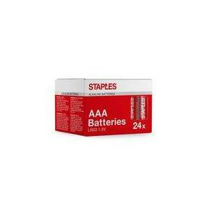 Staples Batteri STAPLES AAA (24)