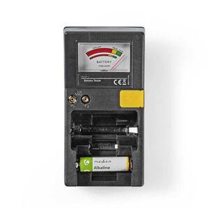 Batteritester - Testa dina batterier - AAA, AA, C, D, 9V och knappcellsbatterier