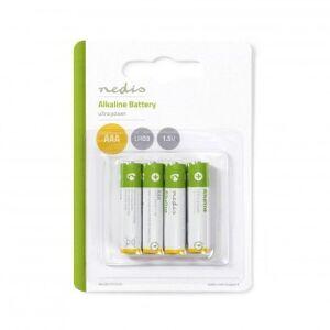 Alkaline Batteri AAA   1.50 V   AAA / MN2400 / MV2400 / MX2400 / 24A / 1200   4 st.   Blister