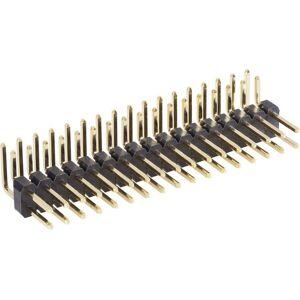 BKL Electronic Stiftlist (standard) Antal rader: 2 Antal positioner per rad: 10 10120533 1 st
