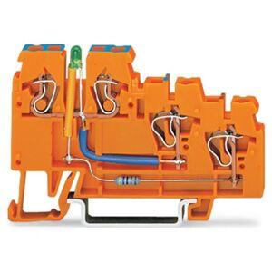 WAGO 270-564/281-483 Initiatorterminal 5 mm Fjäder Orange 10 st
