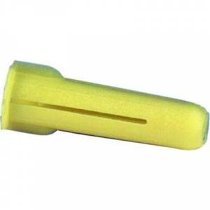 Schneider Electric Plugg gul TP1 100st 22mm 5,5mm borrhål