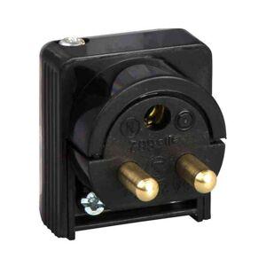 Schneider Electric Lamppropp Renova svart jordad med sidoinföring