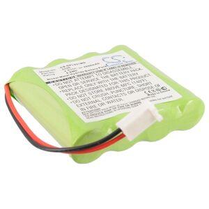 Batteri til Delphi 9-2100 4.8V 2000mAh 6096