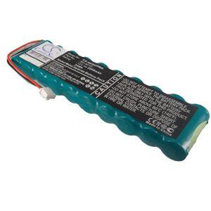 Batteri til Nihon Kohden 6511, Nihon Kohden 9130P 12.0V 2000mAh