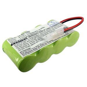 Batteri til Welch-Allyn 12000, 72240 4.8V 3000mAh B11261, 7229