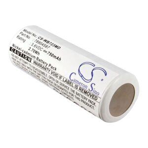 Batteri til Welch-Allyn 71000A 3.6V 750mAh 78904587