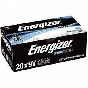 Energizer Batteri ENERGIZER Max Plus E 9V 20/FP