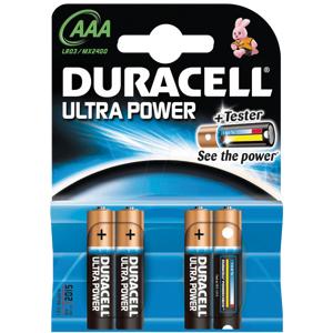 Duracell AAA Duralock Ultra 4 st Batterier