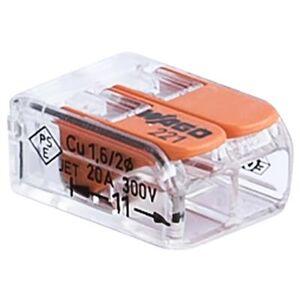 Wago 4014409071 Kopplingsklämma 2-pol, 100-pack