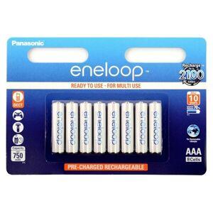 Panasonic Eneloop BK-4MCCE Laddningsbara AAA-Batteri 8-pack