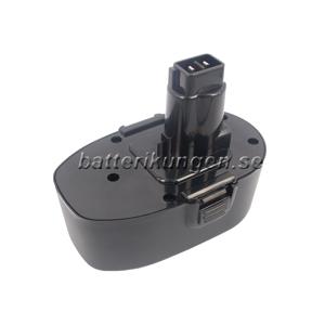 Black & Decker Batteri till Black & Decker KC1882FK mfl - 3.300 mAh