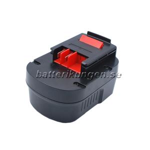 Black & Decker Batteri till Black & Decker HPB96 - 2.500 mAh