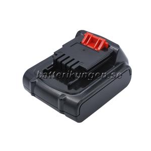 Black & Decker Batteri till Black & Decker ASL146BT12A - 1.500 mAh