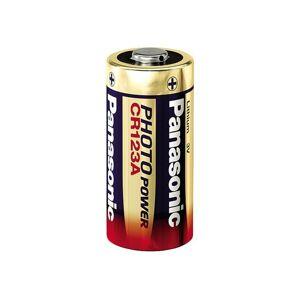 Panasonic CR123A - 3V Lithium batteri
