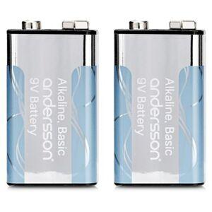 Andersson 2-pack 9V-batteri