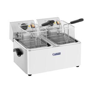 Royal Catering Frituregryde - 2 x 8 liter - EGO-termostat