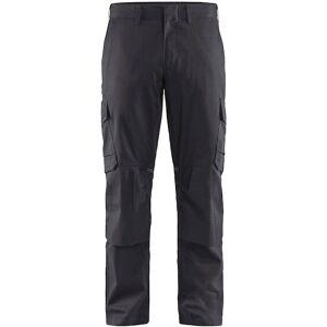 Blåkläder Industri Buks Med Knælommer Stretch Mellemgrå/sort C144