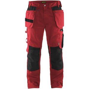 Blåkläder Håndværkerbuks Rød/sort