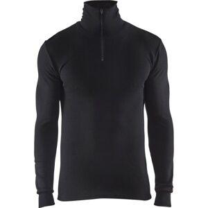 Blåkläder Undertøjstrøje Warm Med Lynlås Sort 4XL