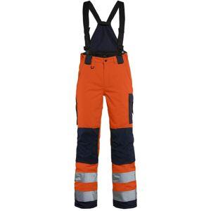 Blåkläder Dame High Vis Vinter Buks Orange/marineblå