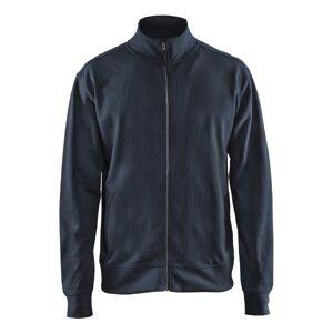 Blåkläder Full Zip Sweatshirt-Marine-Xs XS