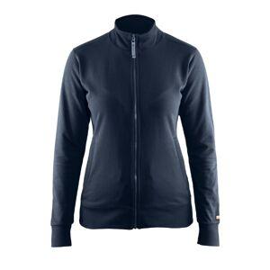 Blåkläder Dame Full Zip Sweatshirt-Marine-M