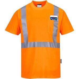 Portwest S190 Hi-Vis T-Shirt M/brystlomme 5XL