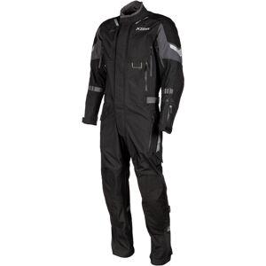 Klim Hardanger Yksiosainen moottoripyörän tekstiilipukuMusta