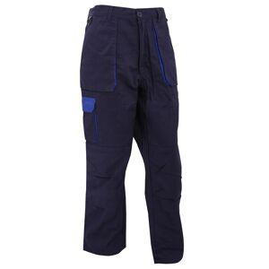 Portwest Mens Texo kontrast Workwear bukser Svart XXL/R