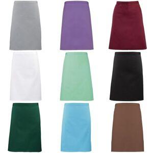 Premier damer/kvinners mid-length forkle Mørk grå One Size