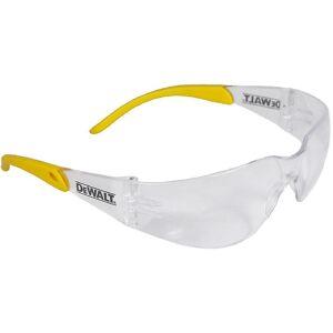 Dewalt Mens DeWalt Secure Rubber Protector Safety Glasses ClearYell...