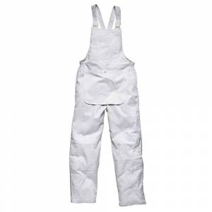 Dickies Mens Workwear malere Bib & klammeparentes hvit WD650W