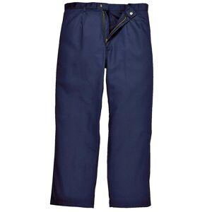 Portwest Mens Bizweld Workwear bukser / bukse Marinen Medium x Tall