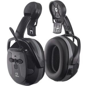 Hellberg Xstream Hørselvern med Bluetooth og hjelmfeste