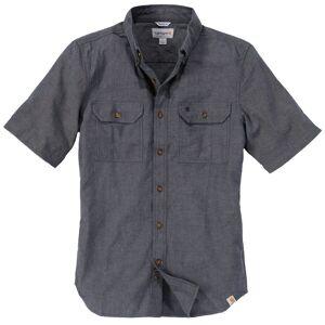 Carhartt Fort Solid Kortärmad skjorta L Grå