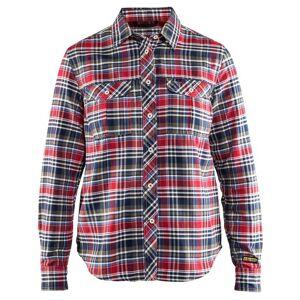 Blåkläder Flanellskjorta Blåkläder   DamSRöd/Marinblå Röd/Marinblå