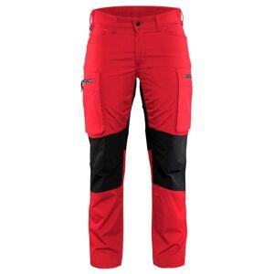 Blåkläder Servicebyxa Stretch Blåkläder   DamC44Röd/Svart Röd/Svart
