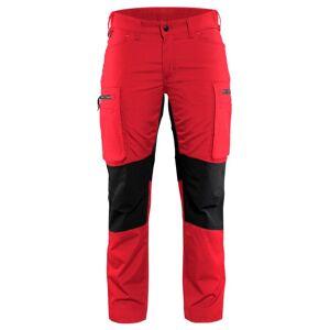 Blåkläder Servicebyxa Stretch Blåkläder   DamC46Röd/Svart Röd/Svart