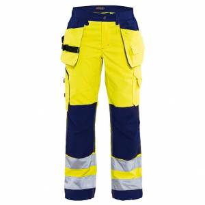 Blåkläder Varselbyxa Hantverk Blåkläder   DamC42Gul/Blå Gul/Blå