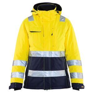 Blåkläder Varseljacka Vinter med Huva Blåkläder   DamLGul/Marinblå Gul/Marinblå