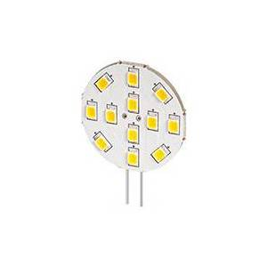 12V LED Pære G4 - 2W (20W) Pins på siden