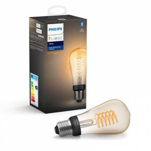Philips Hue White Filament E27 Edison St64