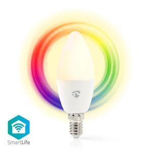 24hshop Älykäs Wi-Fi-Ohjattava LED-Polttimo E14 Värillinen ja Lämmin valkoinen